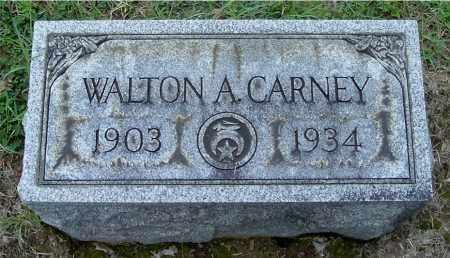 CARNEY, WALTON A - Gallia County, Ohio | WALTON A CARNEY - Ohio Gravestone Photos