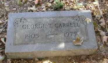 CARRELL, GEORGE - Gallia County, Ohio | GEORGE CARRELL - Ohio Gravestone Photos