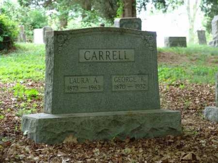 WHITE CARRELL, LAURA A - Gallia County, Ohio | LAURA A WHITE CARRELL - Ohio Gravestone Photos