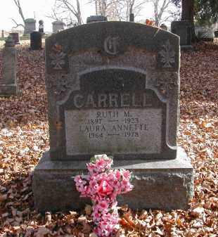 CARRELL, RUTH - Gallia County, Ohio | RUTH CARRELL - Ohio Gravestone Photos