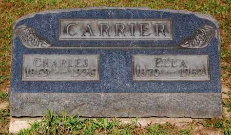 CARRIER, ELLA - Gallia County, Ohio | ELLA CARRIER - Ohio Gravestone Photos