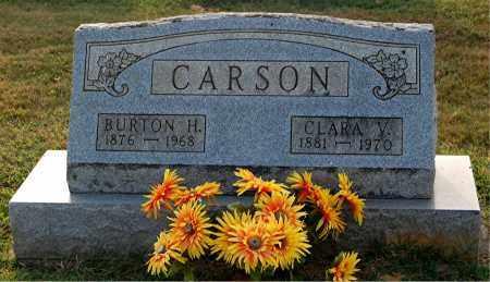 CARSON, BURTON H. - Gallia County, Ohio | BURTON H. CARSON - Ohio Gravestone Photos