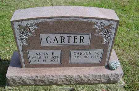 CARTER, ANNA - Gallia County, Ohio | ANNA CARTER - Ohio Gravestone Photos