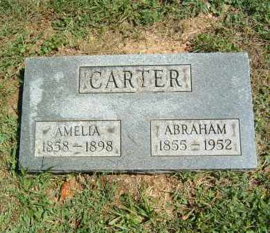 CARTER, ABRAHAM - Gallia County, Ohio | ABRAHAM CARTER - Ohio Gravestone Photos