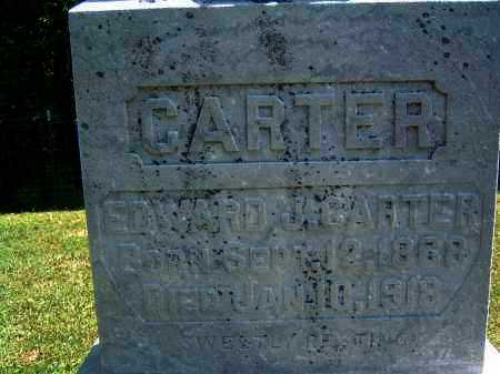 CARTER, EDWARD J. - Gallia County, Ohio | EDWARD J. CARTER - Ohio Gravestone Photos
