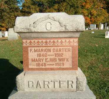 FRY CARTER, MARY E. - Gallia County, Ohio | MARY E. FRY CARTER - Ohio Gravestone Photos