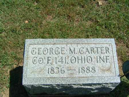CARTER, GEORGE M. - Gallia County, Ohio | GEORGE M. CARTER - Ohio Gravestone Photos