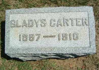 CARTER, GLADYS - Gallia County, Ohio | GLADYS CARTER - Ohio Gravestone Photos