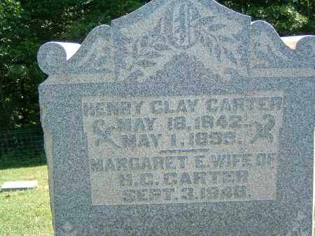 CARTER, HENRY CLAY - Gallia County, Ohio | HENRY CLAY CARTER - Ohio Gravestone Photos