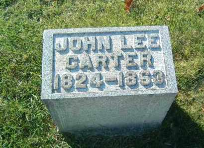CARTER, JOHN L. - Gallia County, Ohio | JOHN L. CARTER - Ohio Gravestone Photos