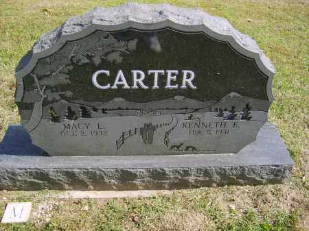 CARTER, MACY - Gallia County, Ohio | MACY CARTER - Ohio Gravestone Photos