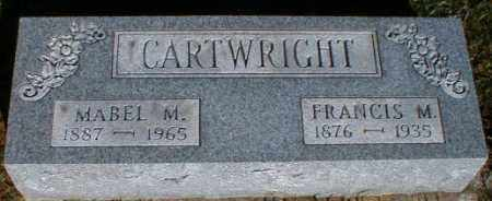 CARTWRIGHT, FRANCIS - Gallia County, Ohio | FRANCIS CARTWRIGHT - Ohio Gravestone Photos