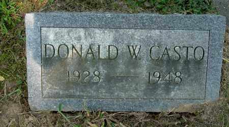 CASTO, DONALD WALTER - Gallia County, Ohio | DONALD WALTER CASTO - Ohio Gravestone Photos