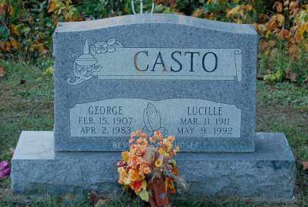 CASTO, GEORGE - Gallia County, Ohio | GEORGE CASTO - Ohio Gravestone Photos