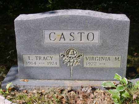 CASTO, VIRGINIA - Gallia County, Ohio | VIRGINIA CASTO - Ohio Gravestone Photos
