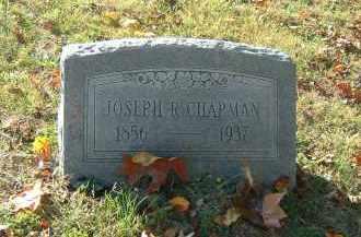 CHAPMAN, JOSEPH R. - Gallia County, Ohio | JOSEPH R. CHAPMAN - Ohio Gravestone Photos