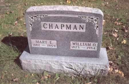 CHAPMAN, MARY E. - Gallia County, Ohio | MARY E. CHAPMAN - Ohio Gravestone Photos