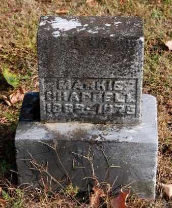 CHAPPELL, MARKIS - Gallia County, Ohio | MARKIS CHAPPELL - Ohio Gravestone Photos