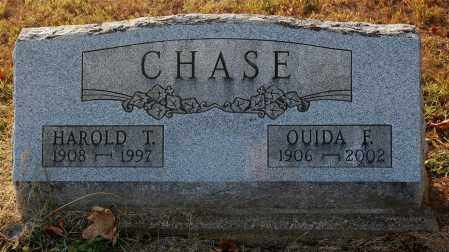 CHASE, OUIDA  F. - Gallia County, Ohio | OUIDA  F. CHASE - Ohio Gravestone Photos