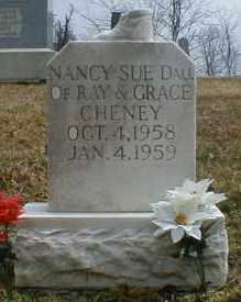 CHENEY, NANCY - Gallia County, Ohio | NANCY CHENEY - Ohio Gravestone Photos