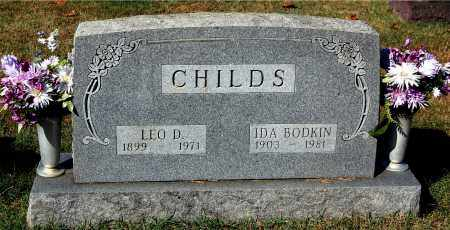CHILDS, LEO D. - Gallia County, Ohio | LEO D. CHILDS - Ohio Gravestone Photos