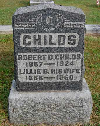 CHILDS, ROBERT DEXTER - Gallia County, Ohio | ROBERT DEXTER CHILDS - Ohio Gravestone Photos