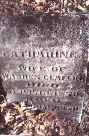 CLAFLIN, CATHARINE - Gallia County, Ohio | CATHARINE CLAFLIN - Ohio Gravestone Photos