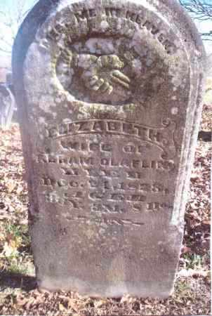CLAFLIN, ELIZABETH - Gallia County, Ohio | ELIZABETH CLAFLIN - Ohio Gravestone Photos