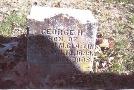 CLAFLIN, GEORGE H. - Gallia County, Ohio | GEORGE H. CLAFLIN - Ohio Gravestone Photos