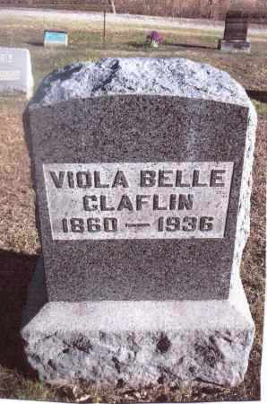 CLAFLIN, VIOLA BELLE - Gallia County, Ohio | VIOLA BELLE CLAFLIN - Ohio Gravestone Photos