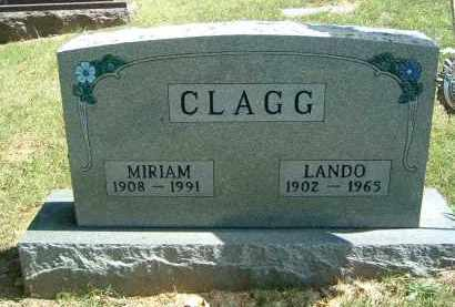 CLAGG, LANDO - Gallia County, Ohio | LANDO CLAGG - Ohio Gravestone Photos