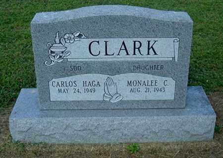 CLARK, MONALEE C - Gallia County, Ohio | MONALEE C CLARK - Ohio Gravestone Photos