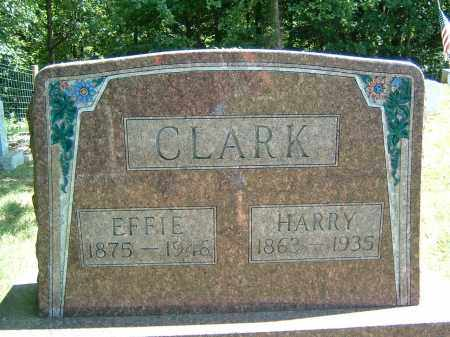 CLARK, EFFIE - Gallia County, Ohio | EFFIE CLARK - Ohio Gravestone Photos