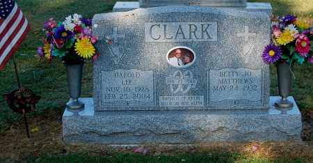 MATTHEWS CLARK, BETTY JO - Gallia County, Ohio | BETTY JO MATTHEWS CLARK - Ohio Gravestone Photos