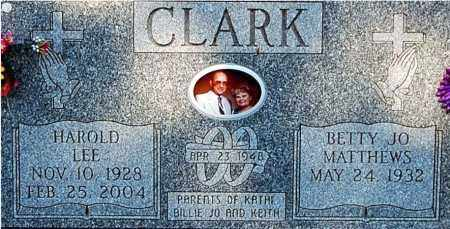 CLARK, BETTY JO (CLOSE-UP) - Gallia County, Ohio | BETTY JO (CLOSE-UP) CLARK - Ohio Gravestone Photos