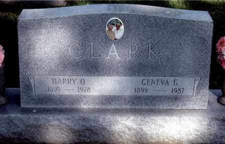 CLARK, HARRY O - Gallia County, Ohio | HARRY O CLARK - Ohio Gravestone Photos