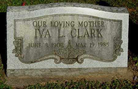 CLARK, IVA L - Gallia County, Ohio | IVA L CLARK - Ohio Gravestone Photos