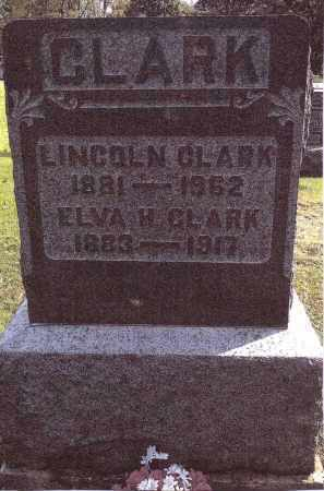 CLARK, LINCOLN - Gallia County, Ohio | LINCOLN CLARK - Ohio Gravestone Photos