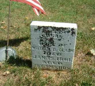 CLARK, SUSAN - Gallia County, Ohio | SUSAN CLARK - Ohio Gravestone Photos