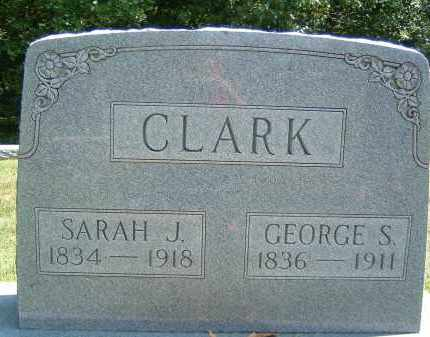 CLARK, GEORGE S. - Gallia County, Ohio | GEORGE S. CLARK - Ohio Gravestone Photos