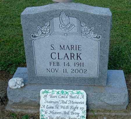 CLARK, S. MARIE - Gallia County, Ohio | S. MARIE CLARK - Ohio Gravestone Photos