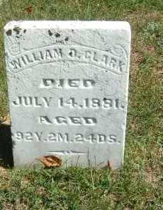 CLARK, WILLIAM D. - Gallia County, Ohio | WILLIAM D. CLARK - Ohio Gravestone Photos