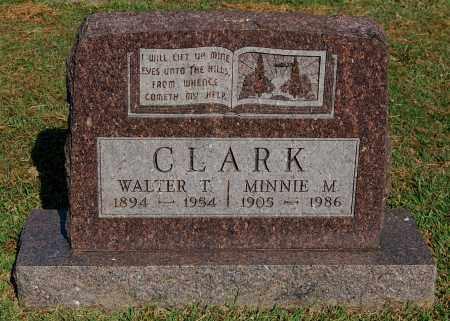 CLARK, WALTER T - Gallia County, Ohio | WALTER T CLARK - Ohio Gravestone Photos