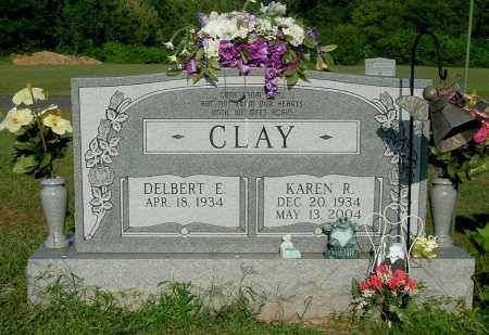 CLAY, KAREN R - Gallia County, Ohio | KAREN R CLAY - Ohio Gravestone Photos