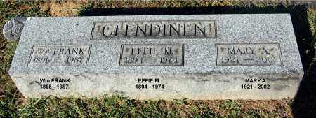 CLENDINEN, MARY A. - Gallia County, Ohio | MARY A. CLENDINEN - Ohio Gravestone Photos