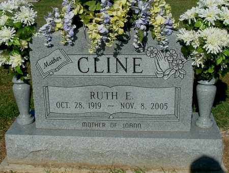 CLINE, RUTH E - Gallia County, Ohio | RUTH E CLINE - Ohio Gravestone Photos