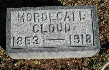 CLOUD, MORDECAI I. - Gallia County, Ohio | MORDECAI I. CLOUD - Ohio Gravestone Photos