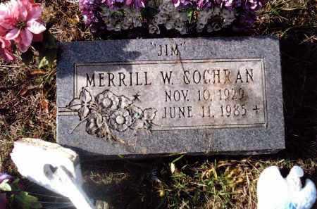 COCHRAN, MERRILL W. - Gallia County, Ohio   MERRILL W. COCHRAN - Ohio Gravestone Photos