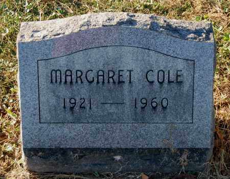 WILLIAMS COLE, MARGARET - Gallia County, Ohio | MARGARET WILLIAMS COLE - Ohio Gravestone Photos