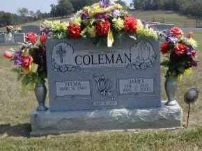 COLEMAN, VELMA - Gallia County, Ohio | VELMA COLEMAN - Ohio Gravestone Photos
